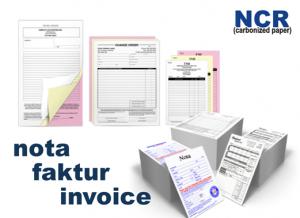 Cetak Nota / Faktur / Invoice Murah Di BSD & Sekitarnya